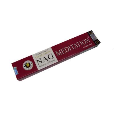Golden Nag Meditation füstölő