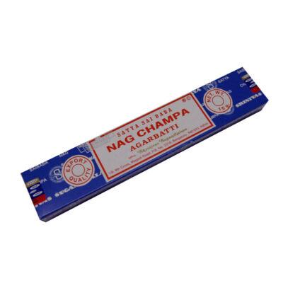 Satya Sai Baba Nag Champa Agarbatti füstölő