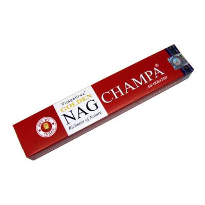 Golden Nag Champa füstölő