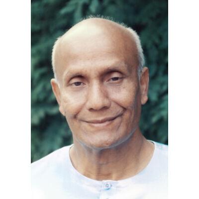 Kép meditációhoz Sri Chinmoyról 1 - (7×10cm)