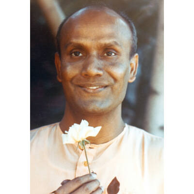 Kép meditációhoz Sri Chinmoyról 3 - (9×13cm)