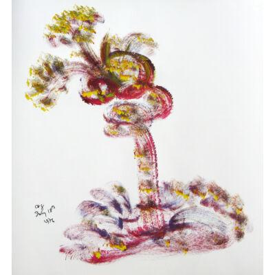 Sri Chinmoy - Jharna Kala festmény reprodukció - Törekvés fa