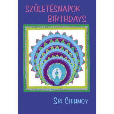 Sri Chinmoy: Születésnapok - Birthdays